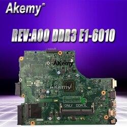 CN-0TFPK8 0TFPK8 TFPK8 PWB:1102F REV:A00 DDR3 w E1-6010 procesora do Dell Vostro 14 3445 V3445 Laptop NoteBook płyta główna do komputera