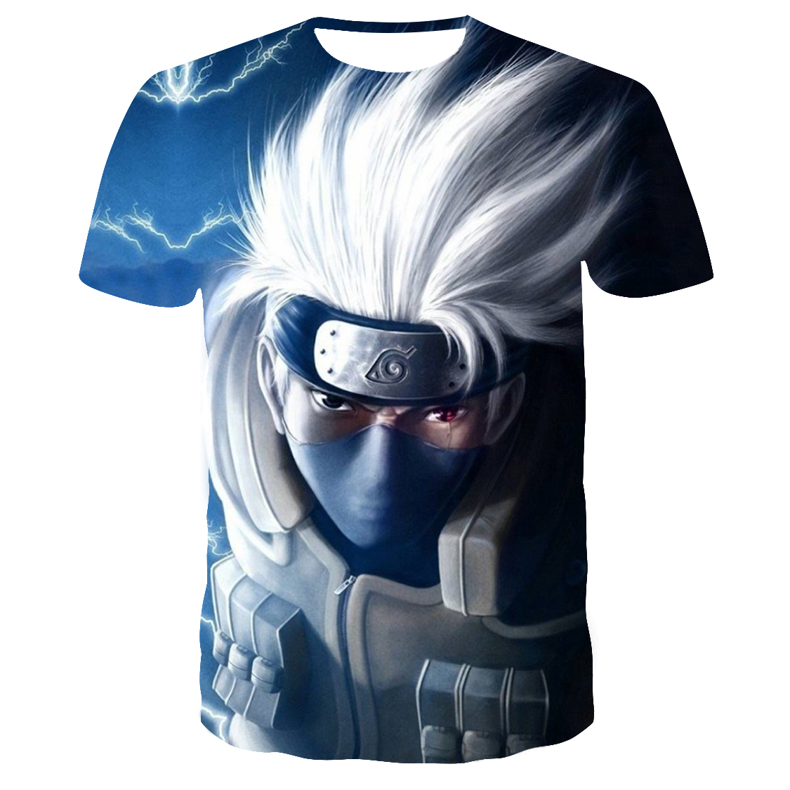 2019 New 3D Naruto T Shirt Men/women Fashion Streetwear Hip Hop Harajuku 3D Print Naruto Men's T Shirt Clothes Top