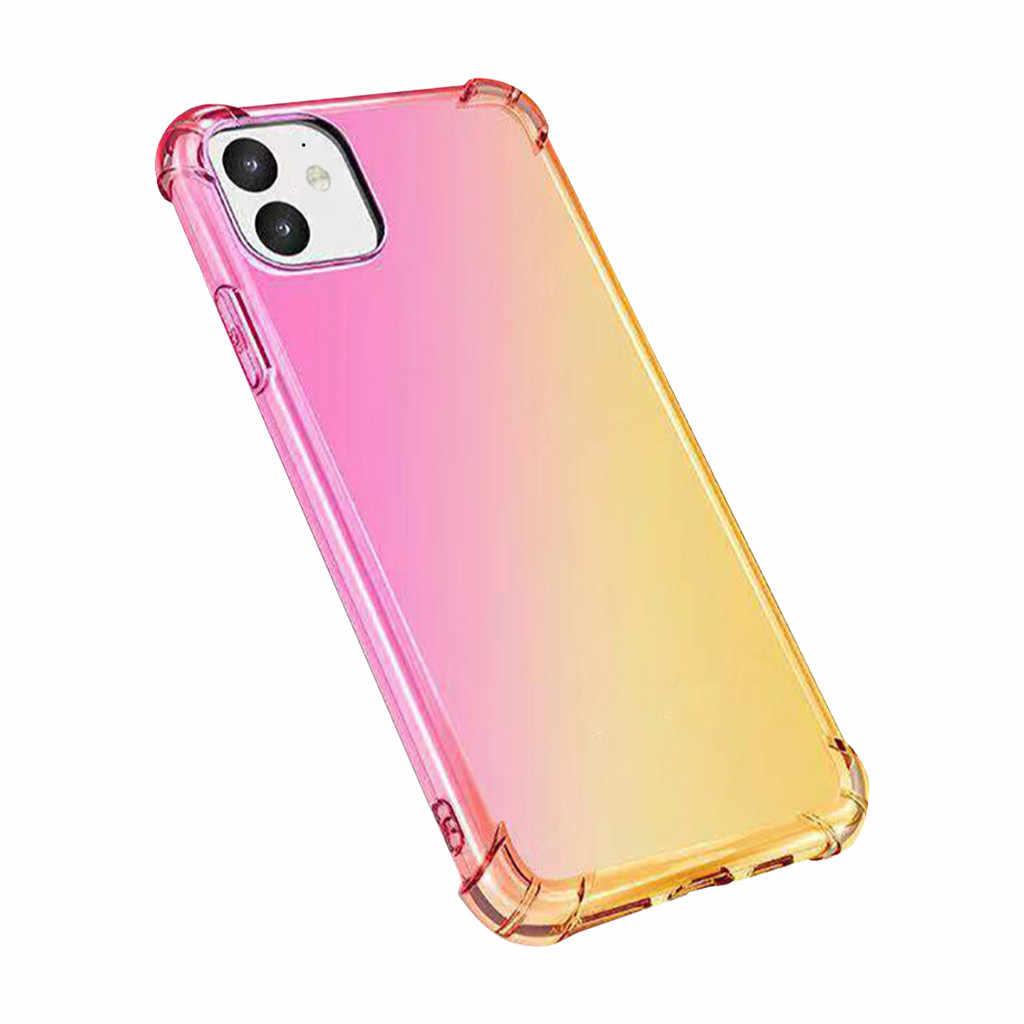 עבור iPhone 11 6.1 אינץ Ultra Slim עמיד למים ארבע פינות אנטי-סתיו כיסוי מקרה טלפון מקרה מגן coverPackage כולל # E25