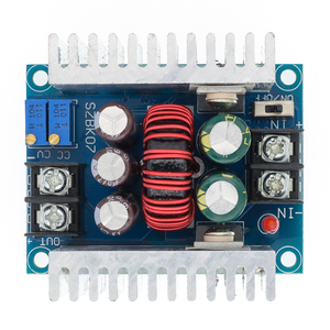 Image 1 - 10pcs 300W 20A DC DC 벅 컨버터 스텝 다운 모듈 정전류 LED 드라이버 전력 스텝 다운 전압 모듈