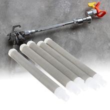 5 sztuk Mesh Airless filtr pompy elementy do farba w sprayu elementy akcesoria tanie tanio OOTDTY Farby i dekorowanie CN (pochodzenie) Q22B11AG400206 app 101mmx9mm 3 98inx0 35in other Electrical Tool Set