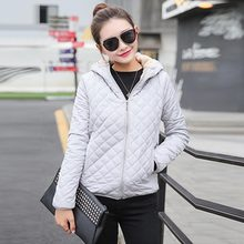 Hot Sale Cotton Basic Jackets 1PC Female Autumn Winter High