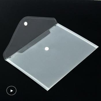 10-50 sztuk A5 przeźroczyste tworzywo sztuczne folder torba na dokumenty torba na dokumenty przechowywanie papieru przybory szkolne biuro tanie i dobre opinie CN (pochodzenie) Folder prezentacyjny 24cm*17cm