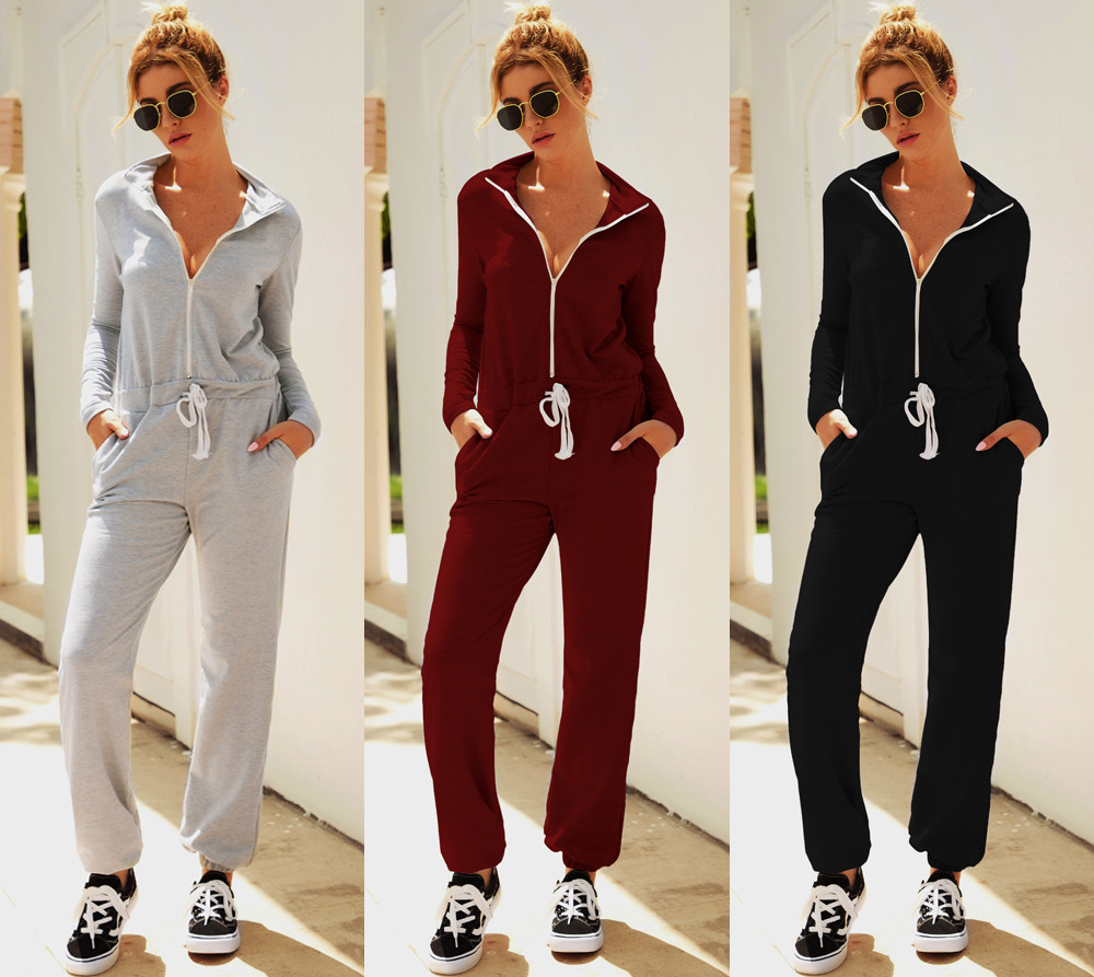 Fashion Women Ladies Stylish Solid Printing Long Sleeve Hoodies Long Pants Trousers 2PCS Tracksuit Lounge Wear Outfits Set
