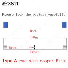 12cm 3 5mm 6 pinów typ A nowy przewód elastyczny AWM E262075 20706 105C 60V VW-1 z tej samej strony styki miedziane kontakt cheap WFXSTD NONE CN (pochodzenie) Ide kable Zdjęcie