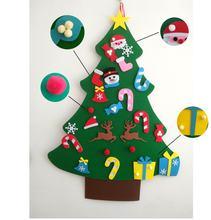 Войлочная Рождественская елка Рождественское украшение сшитые
