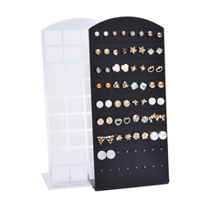 1PC High Quality Jewelry Earring Ear Studs Organizer Stand Holder Show Display Rack Showcase(China)
