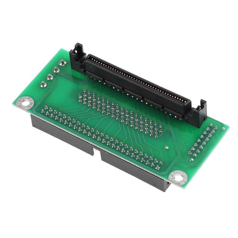 68 SCSI SCA 80Pin כדי 68Pin כדי 50Pin IDE Hard Disk מתאם ממיר לוח כרטיס 68 IDE 50 לוח מודול דיסק קשיח מתאם ממיר (5)