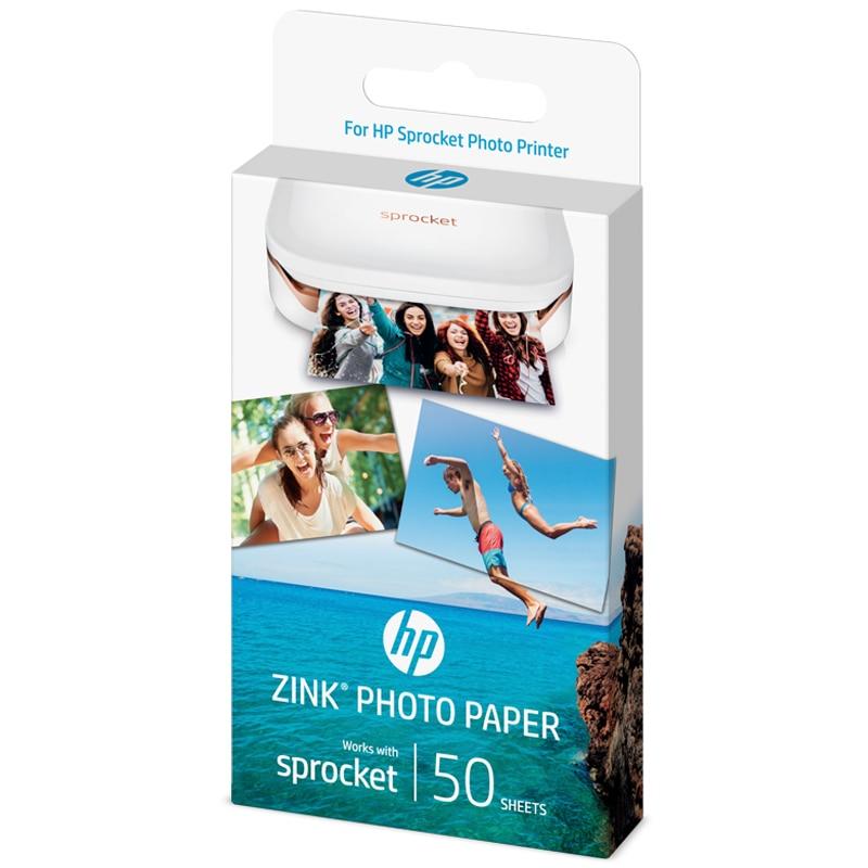 Image 2 - 2 ボックス 40 枚スプロケット写真用紙 5*7.6 センチメートル hp ジンクスプロケット写真なしインク bluetooth  印刷リアルタイム    グループ上の パソコン