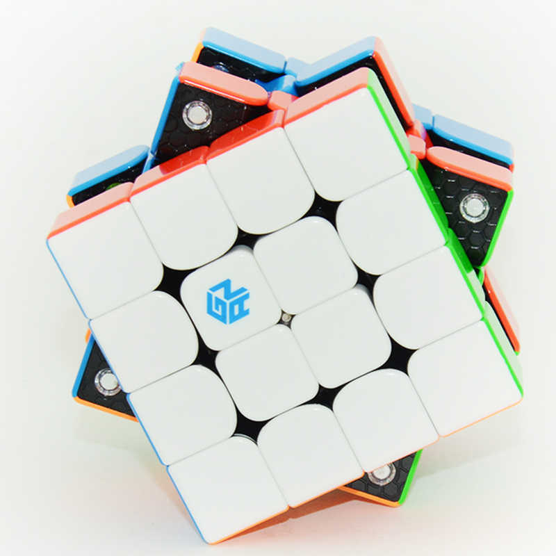 GAN460 m 4 × 4 × 4 磁気プロのスピードマジックキューブガン 4*4 層教育パズルのおもちゃ子供のための学習立方魔法のおもちゃ