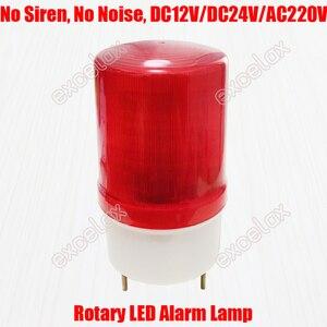 Luz de advertencia LED silenciosa, faro estroboscópico de rotación 12V 24V 220V, Faro de alarma de señal de emergencia para coche, camión, vehículo