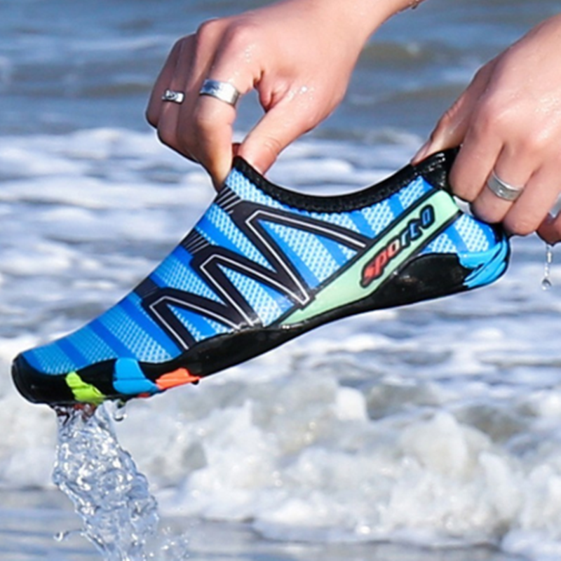 Unisex Swimming Footwear Water Sports Shoes Quick Dry Aqua Shoes For Men Women Outdoor Breathable Upstream Beach Shoes