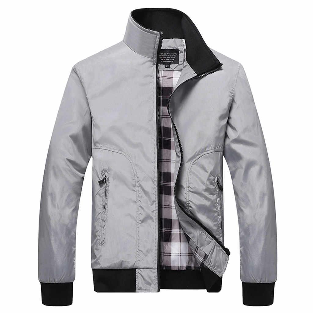 Herfst Jas Heren Casual Losse Heren Jas Sportkleding Bomber Jacket Heren jassen streetwear Man Jassen Plus Size jaqueta