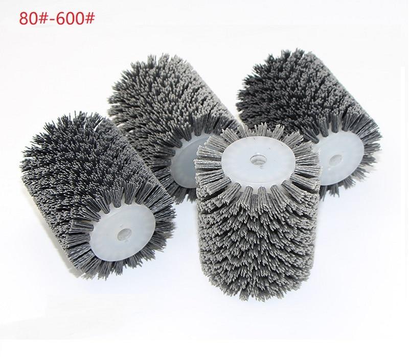 New 1pcs 100*120*13mm Abrasives Wire Brush Wheel For 9741 Wheel Sander P80-P600 Wooden Furniture Metal Polishing Grinding