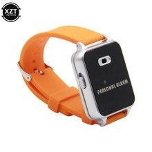 Reloj con alarma antipérdida para niños y niñas, 125db con protección de dispositivo de seguridad, alerta de autodefensa, luz LED de emergencia, fuerte, Personal