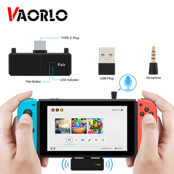 Bluetooth 5.0 Audio Transmitter Adapter EDR A2DP SBC Low Latency for Nintendo Switch PS4 TV PC USB Type-C Wireless transmitter