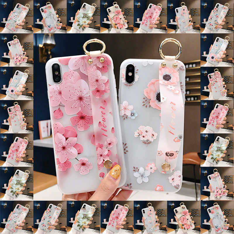 Fabulous Flower Phone Case For Samsung Galaxy S8 S9 S10 Plus Note 8 9 10 cover A20 A30 A40 A50 A60 A70 M20 funda coque