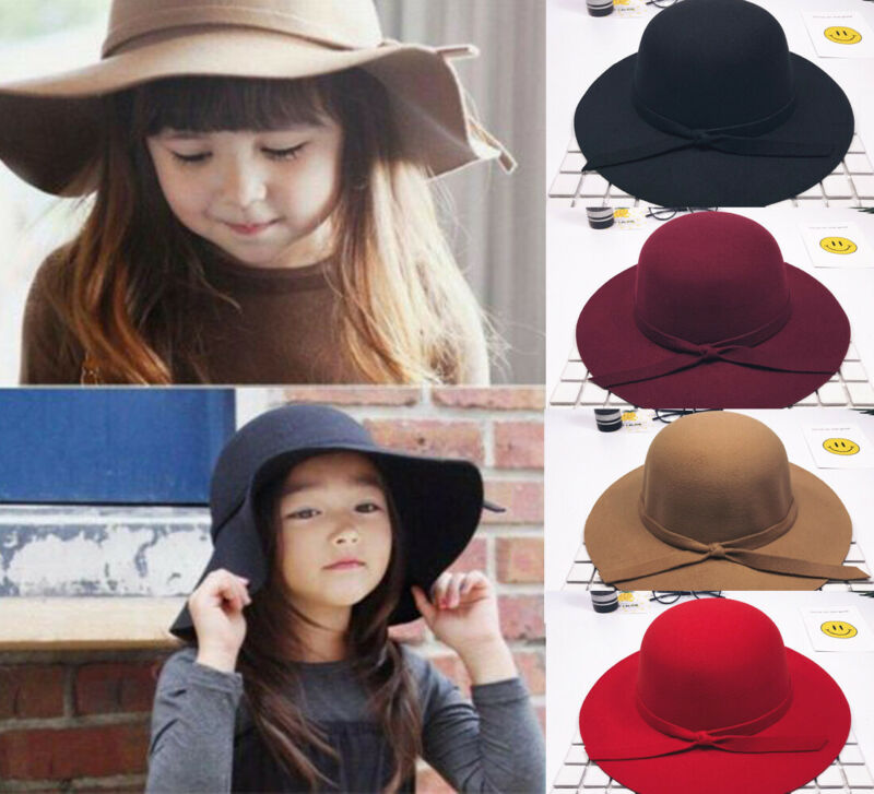 Bow-Hat Bowler Wide-Brim Sun-Caps Autumn Casual Travel Beach Photography-Props Bowknot title=