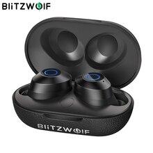 BlitzWolf FYE5 auriculares TWS, inalámbricos por bluetooth v5.0, Mini auriculares intrauditivos deportivos impermeables de sonido estéreo de bajos HiFi