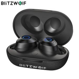 Image 1 - BlitzWolf FYE5 bluetooth v5.0 TWS True Wireless In ear Earphone Sports Waterproof HiFi Bass Stereo Sound Mini Earbuds Headset