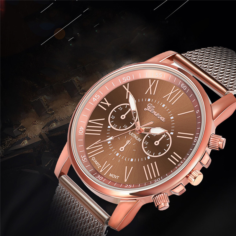 Luxury women Quartz Wrist Watch Temperament lady Watch Stainless Steel Dial Casual Bracele Watches relogio feminino A4 H40f05f60502246ef9b0aa7019306368aY