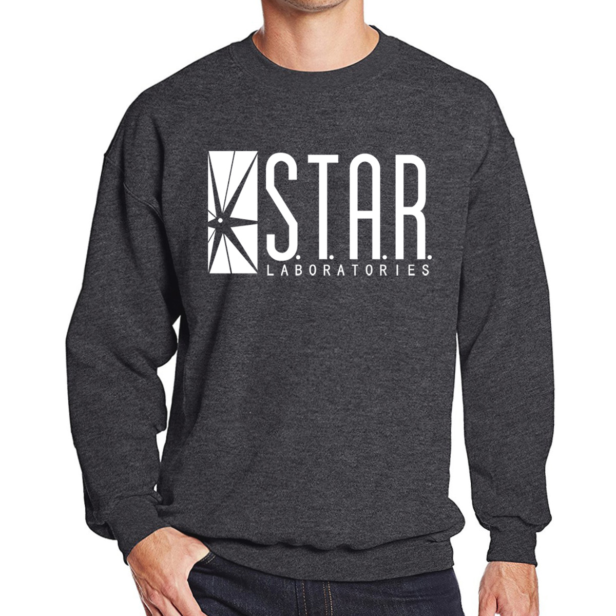 STAR Laboratories Printed Hoodies Men Sweatshirts The BIG BANG Theory Streetwear 2019 Autumn Pullover Mens Sweatshirt Sportswear