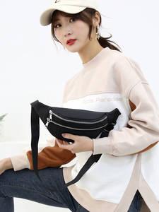 AIREEBAY Bum-Bag Fanny-Pack Chest-Bags Crossbody Travel Waterproof Unisex Fashion Women