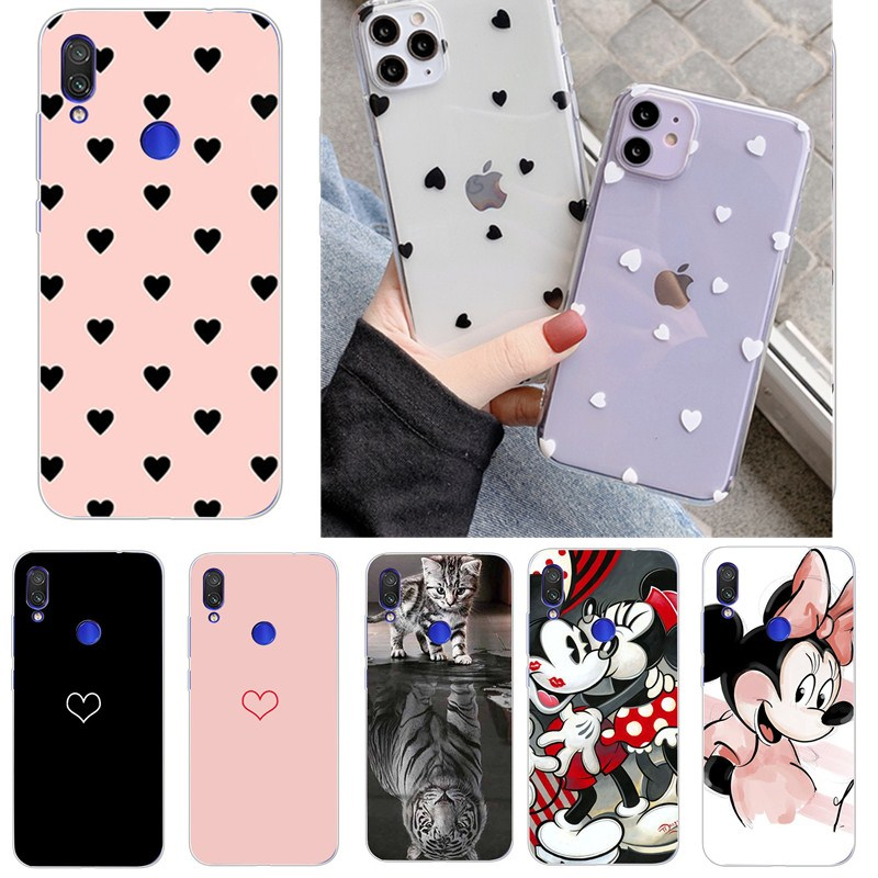 Phone <font><b>Case</b></font> For Xiaomi <font><b>Redmi</b></font> <font><b>Note</b></font> 8 7 Pro K20 Cute Ultra Thin Soft <font><b>TPU</b></font> Silicone Phone Cover <font><b>Cases</b></font> For <font><b>Xiomi</b></font> <font><b>Redmi</b></font> <font><b>Note</b></font> 4 <font><b>4X</b></font> 4A image
