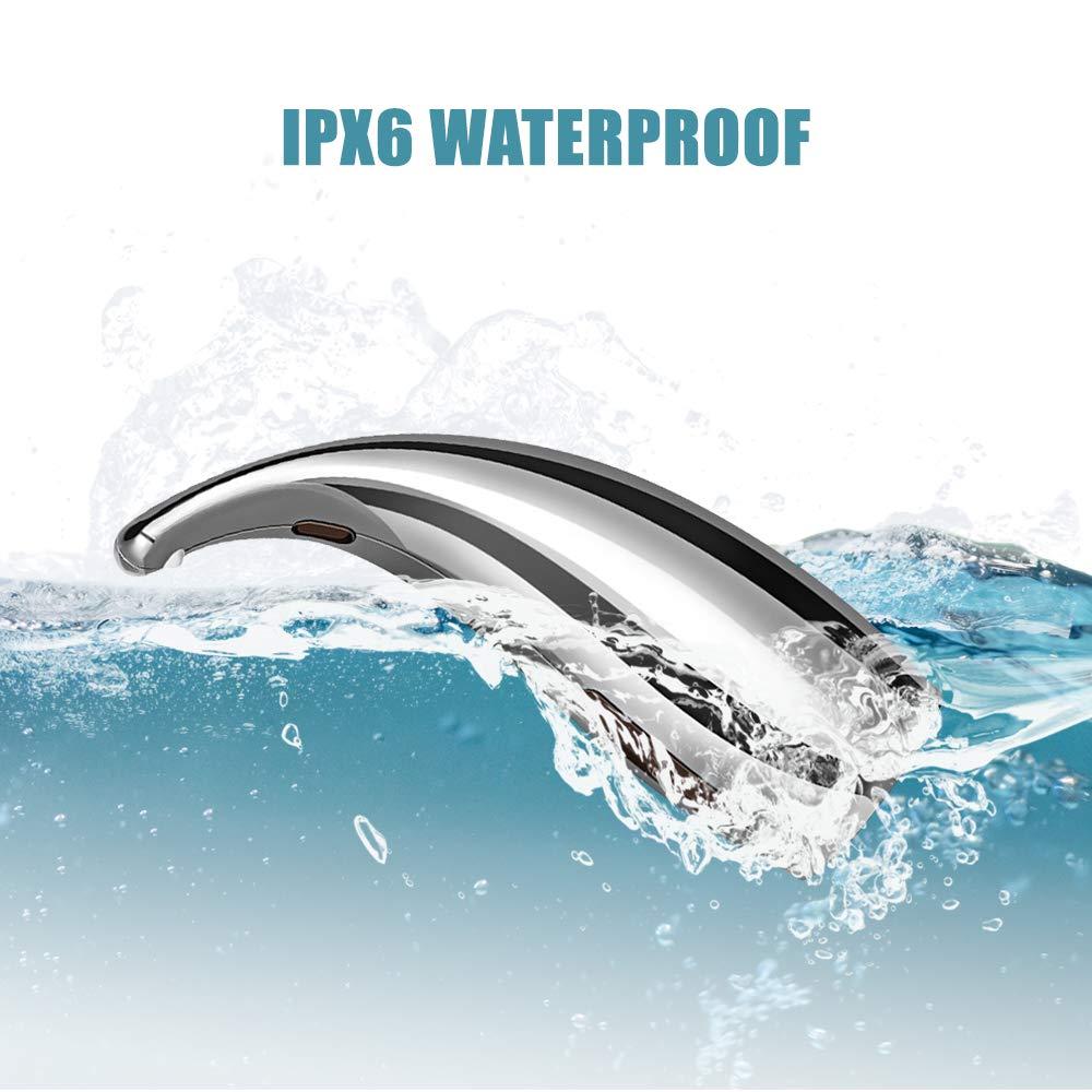 H40f091375c6c49378218d58a7185a802V Soap Dispenser Pump Automatic Liquid Soap Dispenser Infrared Smart Sensor Touchless Foam Shampoo Dispensers For Kitchen Bathroom