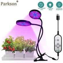 Grow-Light Dimming Hydroponics-Plant-Lamps Phyto Indoor Greenhouse Full-Spectrum 5V Desktop