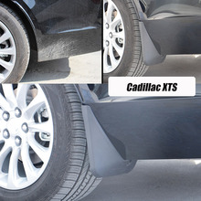 For Cadillac XTS mudguards XTS Mud Flaps cadillac fenders splash guards car accessories auto styling 2013-2016 for cadillac srx mudguards cadillac mud flaps srx splash guards fenders car accessories auto styling 2009 2015