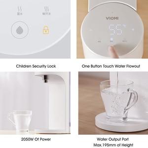 Image 4 - Viomi Desktop Water Dispenser 4L Instant Heating Hot Water Dispenser Water Bar Milk Partner Heater Drinking Water Kettle