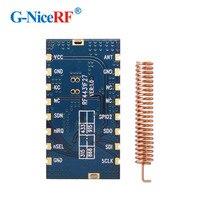 شحن مجاني 5 قطعة/الوحدة RF4432F27 500mW SPI واجهة جزءا لا يتجزأ من مكافحة التدخل FSK/GFSK/OOK 433 ميجا هرتز RF وحدة