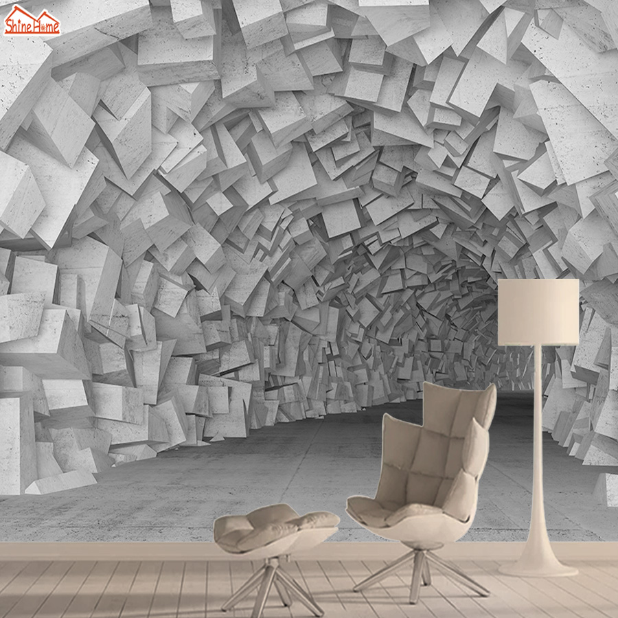 Brick 3d Wallpaper Mural Wallpapers For Living Room Wall Paper Papers Home Decor Blocks Interior Self Adhesive Walls Murals Roll