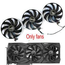 ASUS – carte graphique ROG STRIX RTX2080 RTX2070S RX5700 XT originale, ventilateur de refroidissement