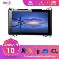 TOOPAI Android 10 For Mercedes Benz Sprinter Viano Vito A/B/V Class B200 W169 A150 W245 B160 Multimedia Player Auto Radio Navi