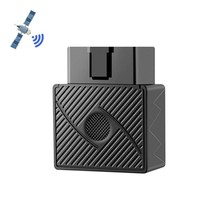 Mini Plug Play OBD GPS Tracker Car GSM OBDII Vehicle Tracking Device OBD2 16 PIN Interface with Software APP|Anti-Lost Alarm| |  -