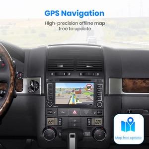 Image 4 - Junsun 2 Din Xe Ô Tô Đài Phát Thanh Đa Phương Tiện Dvd Playe Cho VW Volkswagen Touareg 2004   2011 Xe Vận Chuyển Android 9.0 GPS 4 + 64GB Tùy Chọn