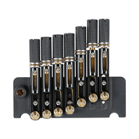 1 Set Guitar Bridge Headless 7 String Metal GA878 Guitar Bridge Tremolo Bridge for Bass Guitar