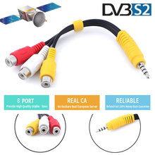 2021 New Canada French Receptor HD AV Cable Suitable for Europe Most DVB S2 /t2 Receivers