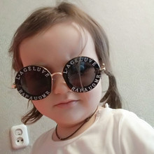 The New Steampunk Metal Bee Kids Sunglasses Boys Girls Luxury Vintage Children Round Sun Glasses
