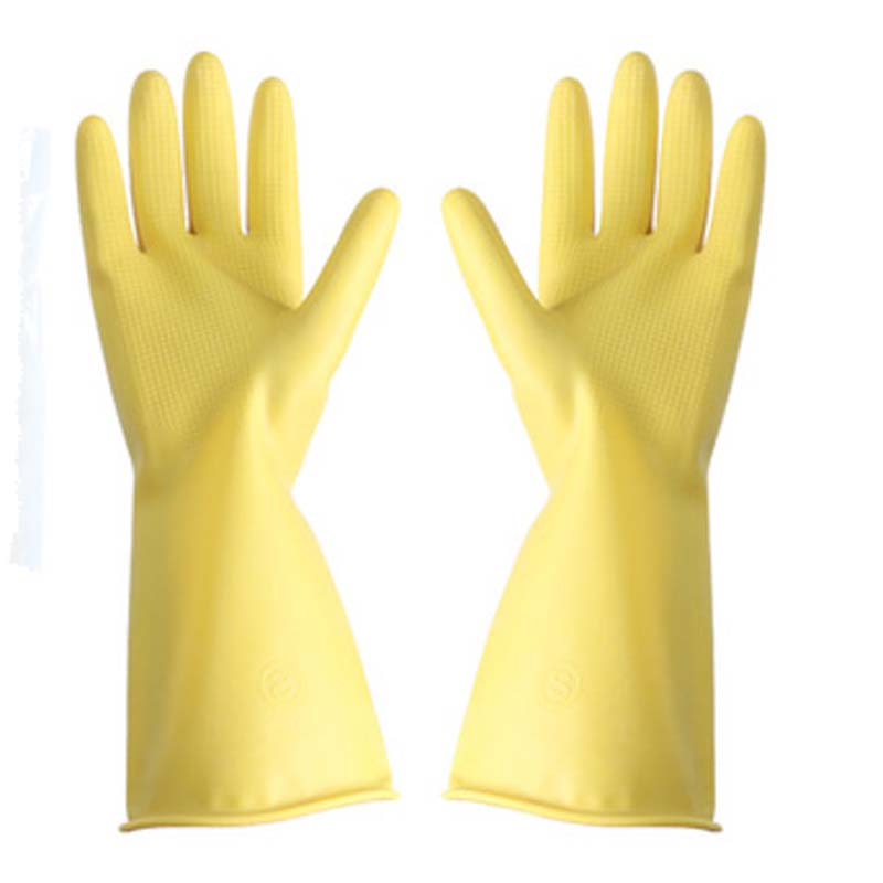 Rubber Gloves Thickened Tendon Industrial Labor Protection Wear-resistant Gloves