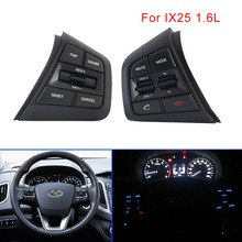 Auto steering wheel for pc multifunction button For Hyundai creta ix25 1.6L 2.0L cruise control Volume swith Right Side for car недорого