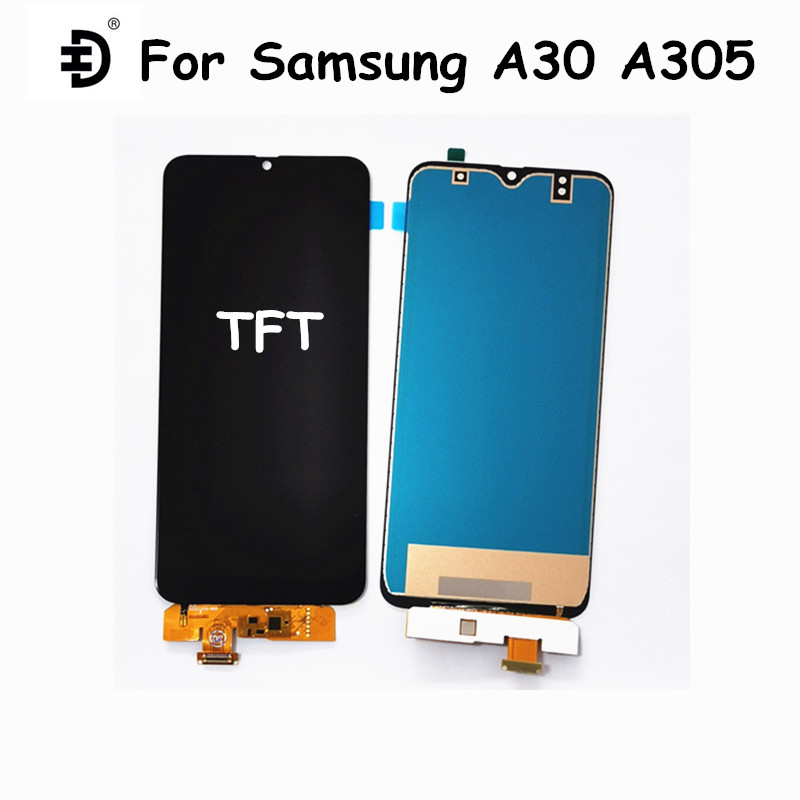 TFT <font><b>LCD</b></font> For <font><b>Samsung</b></font> Galaxy <font><b>A30</b></font> <font><b>LCD</b></font> Display Touch Panel Digitizer For <font><b>Samsung</b></font> <font><b>A30</b></font> A305F <font><b>LCD</b></font> Replacement Screen For <font><b>Samsung</b></font> A305 image