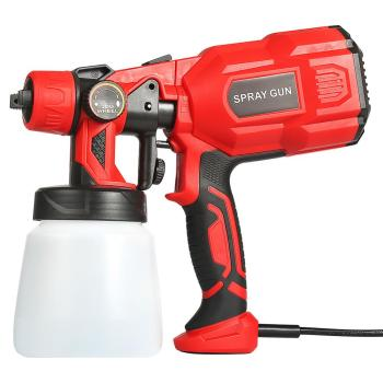 550w Electric Paint Sprayer Gun With Anti Dust Mask For Painting And Wall Furniture