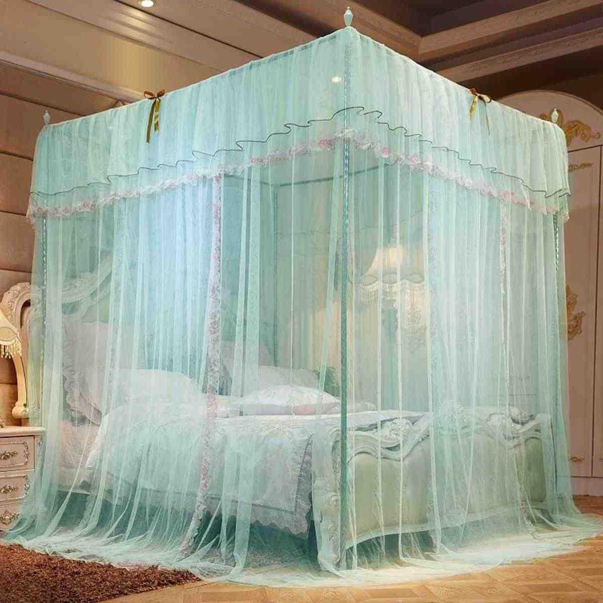 bedding girl princess mosquito net bed canopy tent curtain room decor klamboe baldachim ciel de lit camas dormitorio
