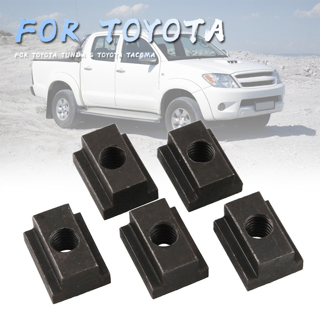 $ 19.6 Bolt Dropper Bed Rail Cleat T Slot Nuts for Toyota with 3/8