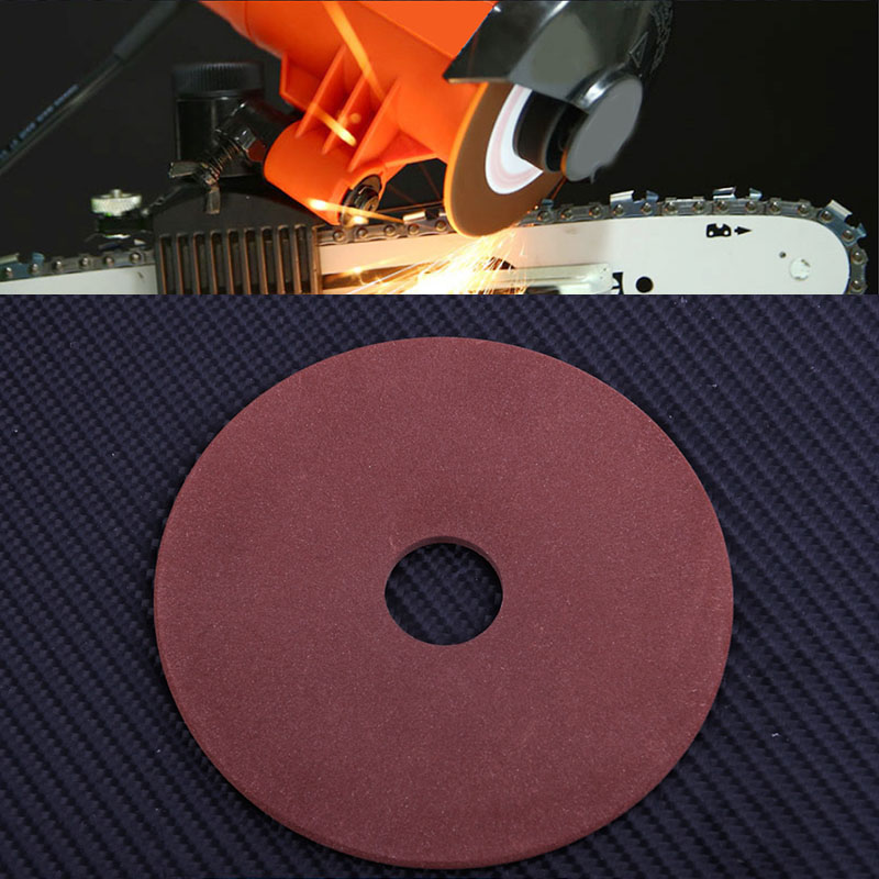 105mm Grinding Wheel Disc For Chainsaw Sharpener Grinder .325 Chain Cutting 1PC