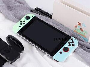 Image 4 - IVYUEEN per Nintendo Switch NS Console animali incrocio custodia rigida protettiva Shell per NintendoSwitch JoyCon Joy Con Cover posteriore
