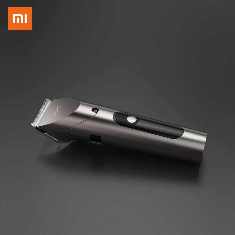 2020新xiaomi riwa電気バリカントリマー専門男性の強いパワー鋼カッターledスクリーン洗える